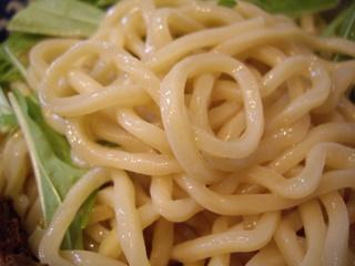 中華そば旋 つけ麺(麺)