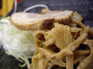 中華そば くりの木いな つけ麺(具)