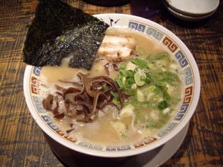 九州大牟田とんこつラーメン きらら ばりこて醤油ラーメン