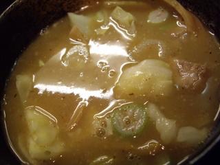 づゅるめん池田 塩つけ麺(つけ汁)