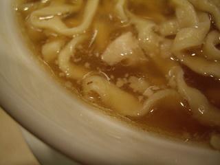 麺や 七彩 喜多方手切りらーめん(スープ)