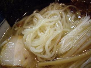 麺工房 隠国 塩らぁ麺(麺)