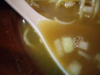 らあ麺燕返し そば(スープ)