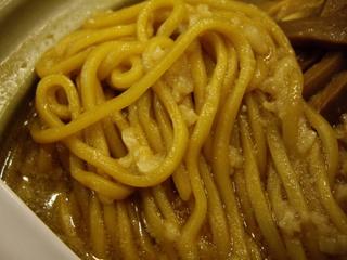 韃靼ラーメン一秀 どなべラーメン(麺)