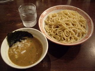 新潟濃厚中華そば・つけ麺なおじ つけ麺