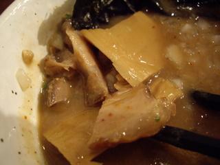 新潟濃厚中華そば・つけ麺なおじ つけ麺(具)
