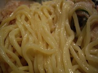 背脂醤油のあ 脂そば(麺)