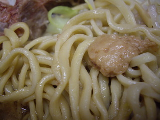 ラーメン二郎 小岩店 小ラーメン(麺)
