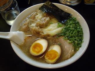 らーめん茂木 雲呑麺