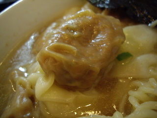 らーめん茂木 雲呑麺(ワンタン)
