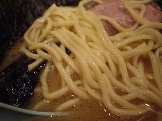 麺家 黒 ラーメン【並】(麺)