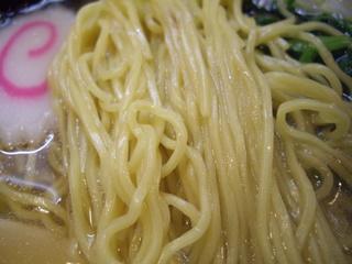 函館らーめん しお貫 塩らーめん(麺)