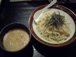 麺やしげる 醤油つけ麺