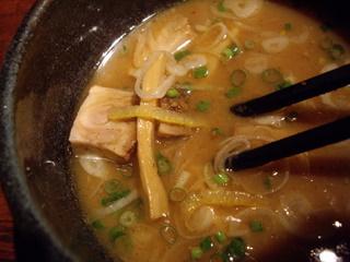 つけ麺屋麦亭 つけ麺(つけ汁)