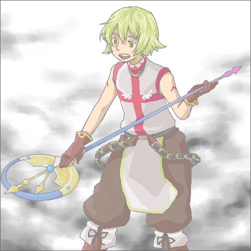 染色とノビ杖