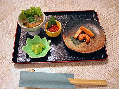 前菜 「おまかせ五種盛り」