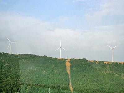 浅間山 風車