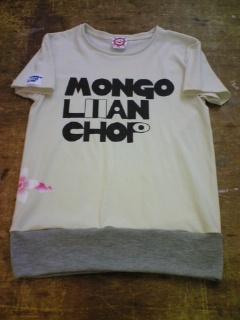 MONGOLIANTシャツ ナチュラル