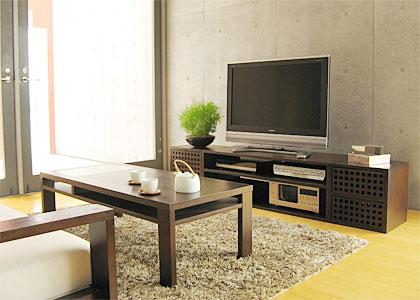 キューブ・テレビボード(テレビ台)