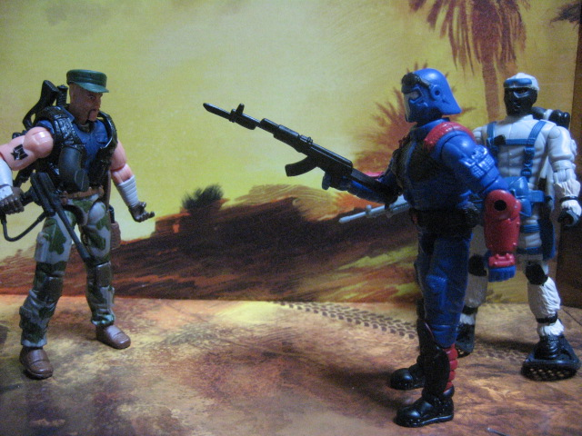 G.I.JOE 「GUNG HO vs COBRA VIPER」&SNOW SERPENT