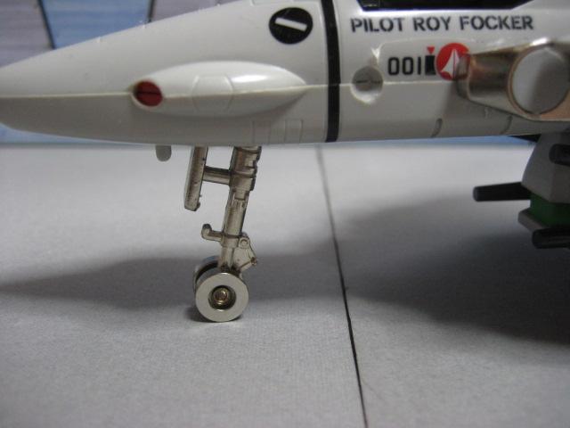 オリジン・オブ・バルキリー バルキリーVF-1S (ロイ・フォッカー機) 3
