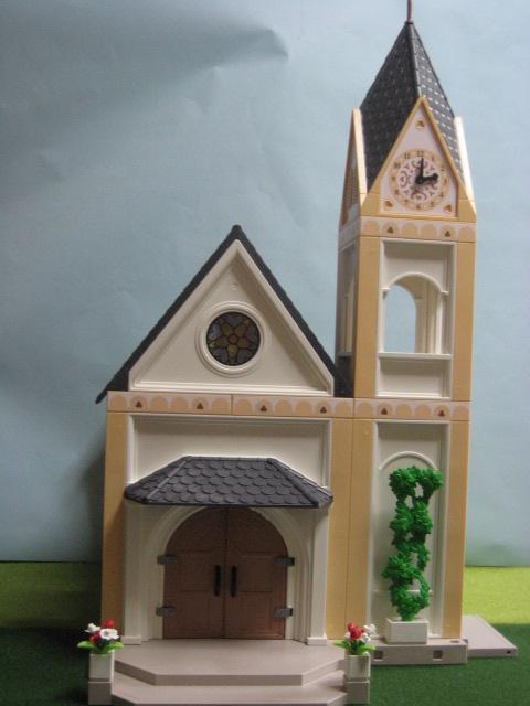 プレイモービル「教会」1