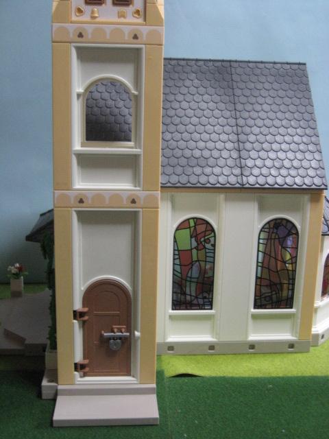 プレイモービル「教会」2