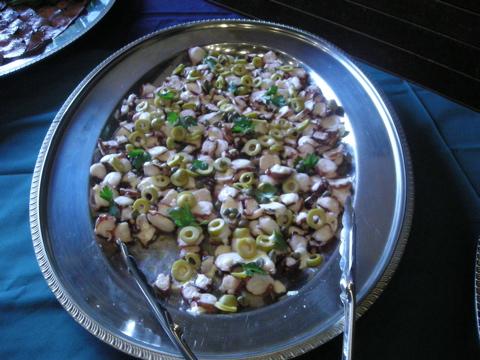 タコの温サラダ