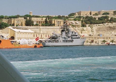 トルコ軍艦