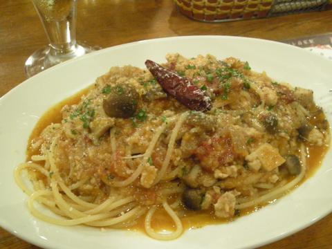 豚肉と香味野菜ラグーソース