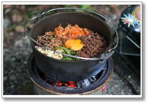 鉄鍋ビビンバ