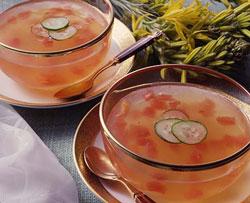 トマトゼリースープ