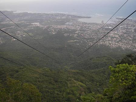 プエルトプラタ(上空からの景色)