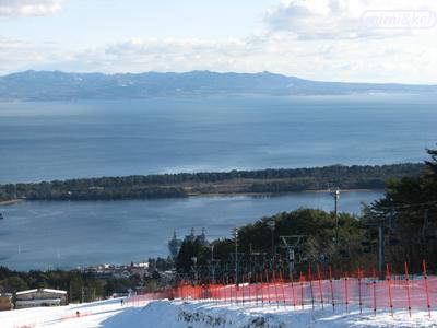 釜臥山スキー場谷