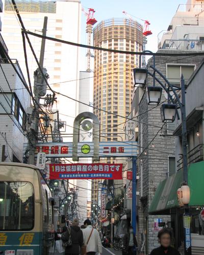 目銀商店街