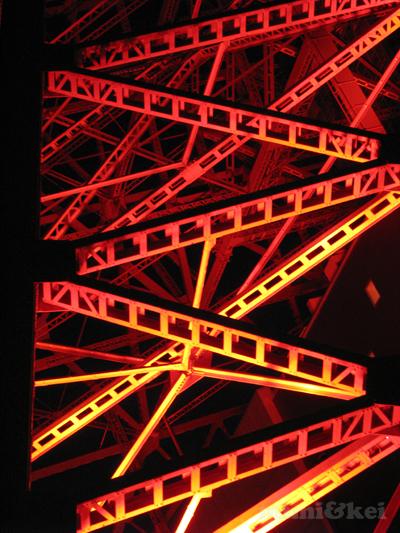 東京タワー足