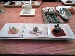 ランチコース(前菜)