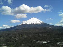 合宿:富士山が綺麗