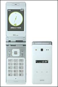 新しい携帯(W41T)