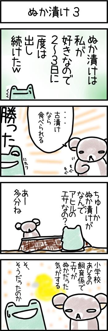 ぬか漬け3