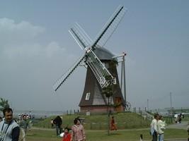 あけぼの山農業公園の風車