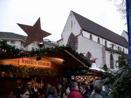 バーゼルのクリスマスマーケット