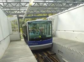ベルゲンの登山鉄道