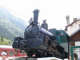 シャモニー蒸気機関車