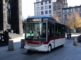 クレルモンフェランのバス