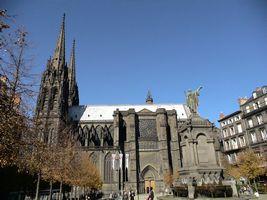 クレルモンフェランの教会