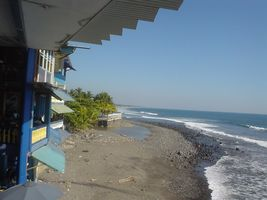 エルサルバドルのビーチ