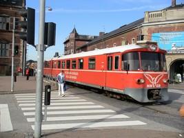 ヘルシングーアの電車