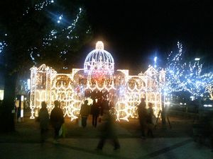 広島のクリスマスライトアップ