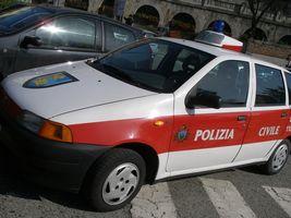 サンマリノのパトカー